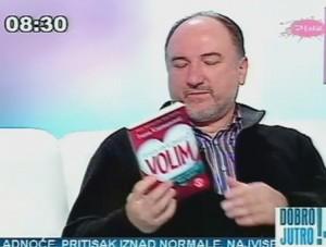 """Dr Zoran Milivojević o knjizi Ivane Kuzmanović """"Od kada sam se zavolela - VOLIM"""""""