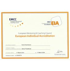 EMCC - Certificate EIA 2019 - Ivana Kuzmanović